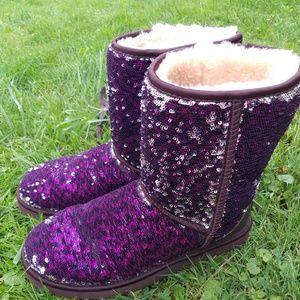 UGG sequin FLIP boots